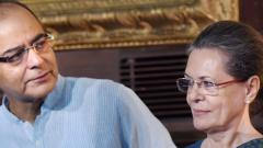 Jaitley's contributions to public life will be remembered forever: Sonia Gandhi