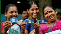 20 lakh people join modified JanDhan scheme, total account holders 32.61 cr
