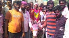 Maharashtra village's Holi tradition of donkey ride for son-in-law