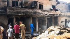 18 Indians killed in factory fire in Sudan