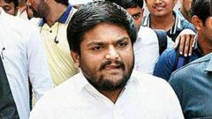 Hardik, 2 Cong MLAs detained on way to meet sacked IPS officer