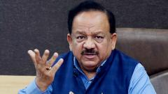 "Union Health Minister Harsh Vardhan on Sunday held ""irresponsible behaviour"" of people responsible for the surge of Covid-19 cases in the country"