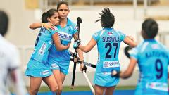 Indian women's team beat Malaysia to seal series 4-0