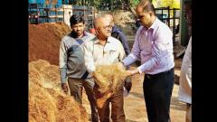 Civic body starts tender coconut processing plant to produce jute