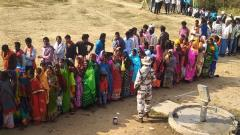 27.4pc voter turnout till 11 am in J'khand assembly polls