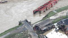 Heavy rains, flooding kills 18 in Japan
