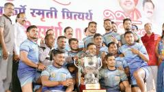Baburao Chandere Social Foundation wins men's title