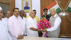 Yeddyurappa to take oath as K'taka CM at 6 p.m