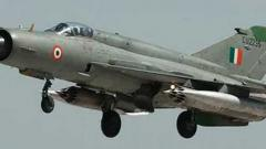 IAF MiG trainer aircraft crashes in MP, pilots eject safely