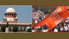 Plea in SC challenging grant of quota to Marathas in education, jobs in Maharashtra