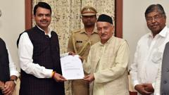 Devendra Fadnavis quits as CM ahead of SC-ordered floor test, admits he has no majority