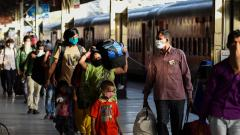 Coronavirus Mumbai: 1,168 migrants return to Bhopal