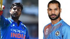 Agarwal replaces injured Dhawan in India's ODI squad