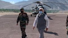 LAC Standoff: PM Narendra Modi visits Leh to review security situation; interacts with soldiers