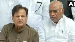 Alliance of Cong-NCP-Sena will form govt in Maha: Ahmed Patel