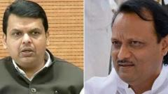 Devendra Fadnavis sworn-in as Maharashtra CM, Ajit Pawar as Dy CM