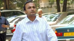 Yes Bank: Anil Ambani appears before ED in Mumbai