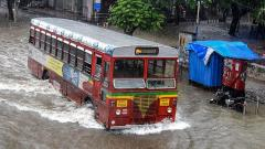 Mumbai rains: Incessant rainfall lash city; landslide at Malabar Hill