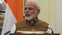 PM congratulates ISRO on Cartosat-3 satellite launch