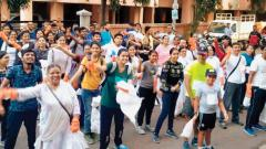Three NGOs Join Hands, Conduct Cleanliness Drive