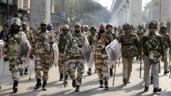 1,000 armed policemen being deployed in Delhi