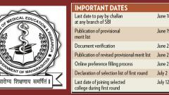 Admission procedure starts for health science courses