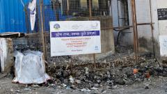 Citizens clean area near MSEDCL transformer in Hadapsar area
