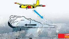 'Cloud seeding project going on right path'