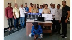 Cops recover stolen goods worth Rs 10L