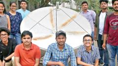 FC students make portable radio telescope