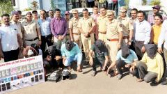 Inter-state gang of ATM thieves busted