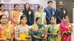 Outstanding women in agri sector felicitated