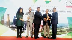 REF bags award at World CSR Day Congress and Awards