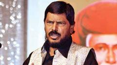Union Min Ramdas Athawale unhappy with BJP and Sena