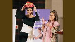 Shilpa graces FLO inaugural event