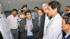 Now, new apron, taxi track at Pune airport