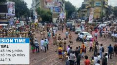 Pune police managed immersion in 24 hrs