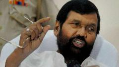 Union Minister Ram Vilas Paswan admitted to hospital in Delhi