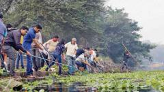 NGOs come together to clean rivers