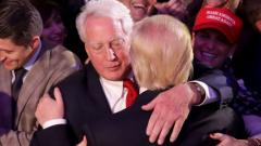 USA President Donald Trump's younger brother dies at 71