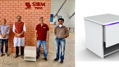 Students develops UV-sanitiser and air-purifier to sanitise accessories