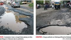Residents Complain Of Delayed Concretisation On Sinhagad Road
