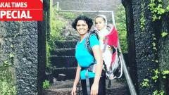 Woman takes her baby girl on treks, climbs 12 forts in 12 months