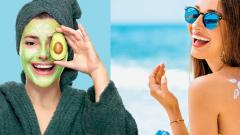 Here are some summer specific face masks that will help the skin retain its radiance and freshness  even when temperatures are soaring