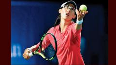 Luksika sends top seed Zheng packing