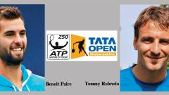 Paire, Robredo confirm entries for Tata Open Qualifiers