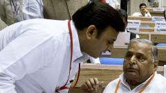 Mulayam slams son Akhilesh over party's alliance with BSP