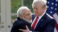 Donald Trump praises Indian PM Narendra Modi: Times like these bring friends closer