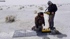 'Ghost' footprints hiding since end of Ice Age found