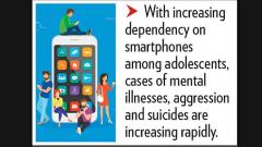 Smartphone addiction affecting teens' mental health, say experts
